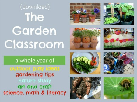 Book review the garden classroom 52 kids gardening activities by cathy james fspdt for Garden activities for toddlers