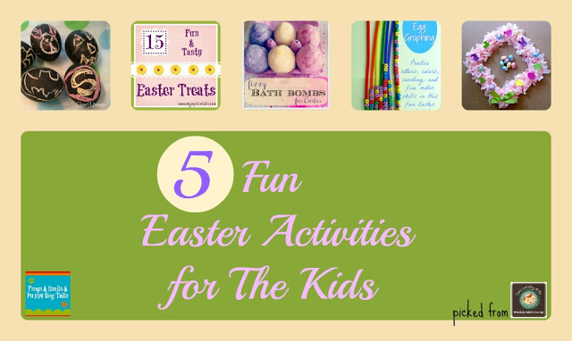 The Kid's Co-op week 3-14 & 5 Fun Easter Activities for The Kids {from Last Weeks The Kid's Co-op}