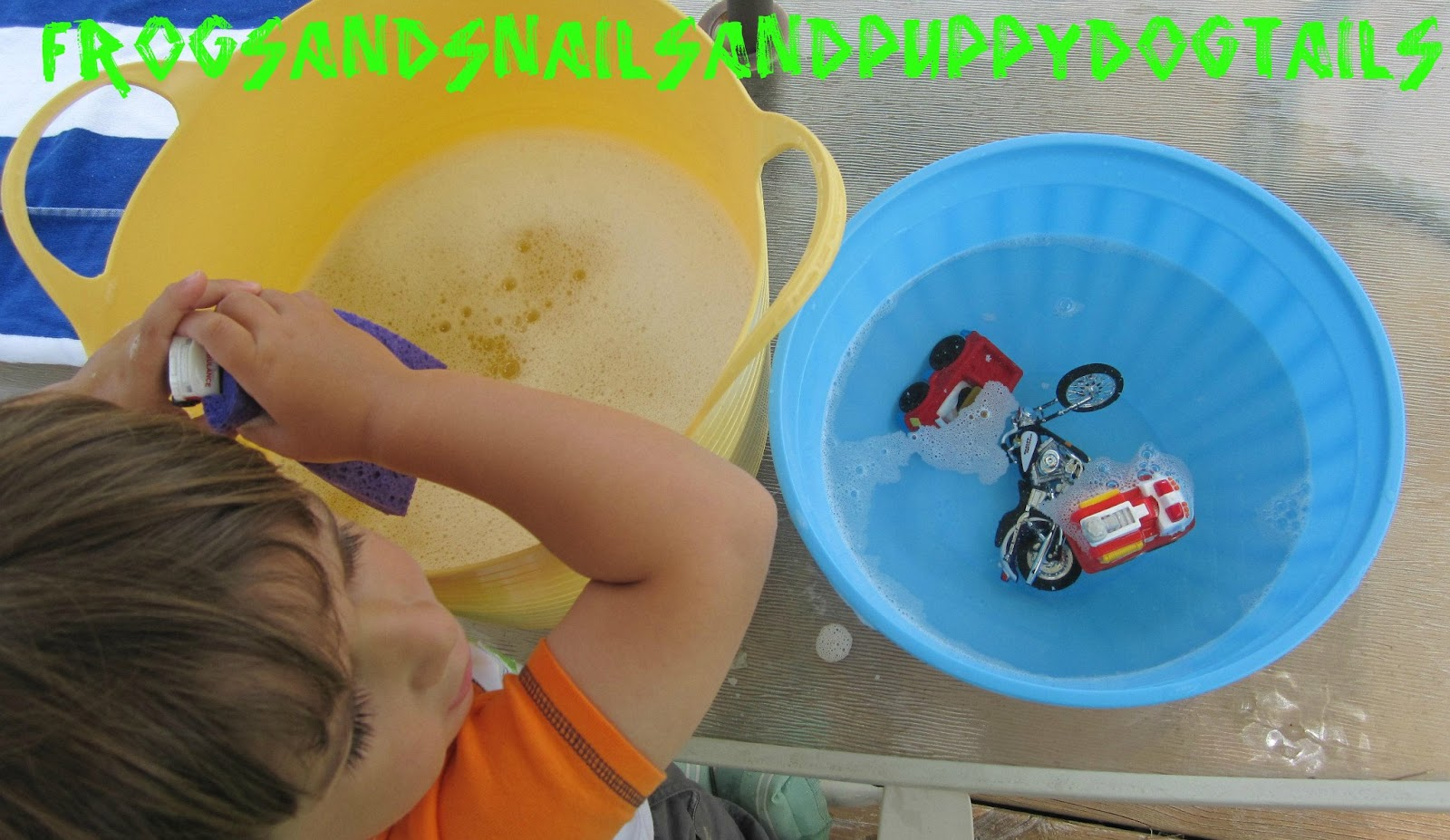 Toy Car Wash Fun Water Play For Kids Fspdt