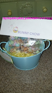 Bunny Chow snack mix- Easter Treat