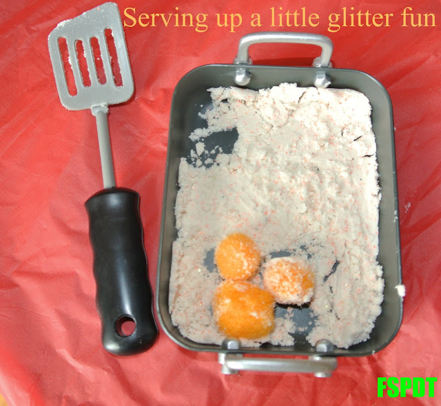 Glitter Cloud Dough