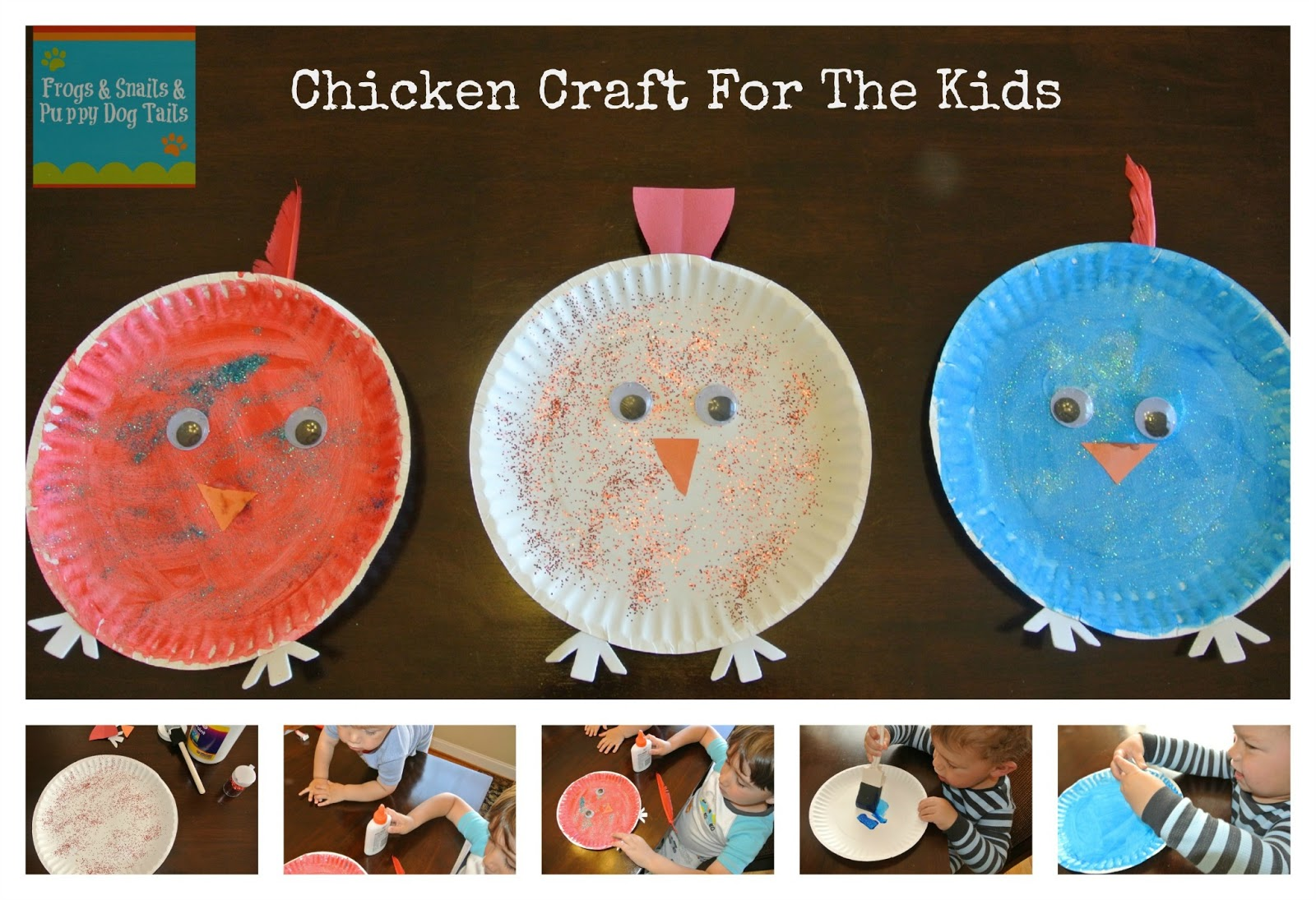 Chicken/Hen Paper Plate Craft - FSPDT