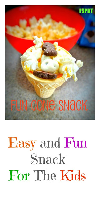 Fun Snack Cone For Kids