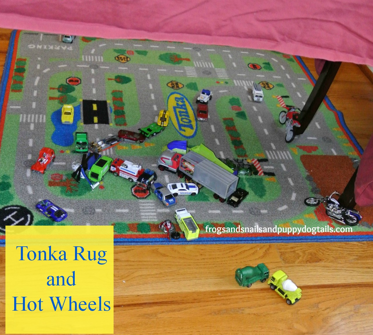 Tonka Rug And Hot Wheels Fspdt