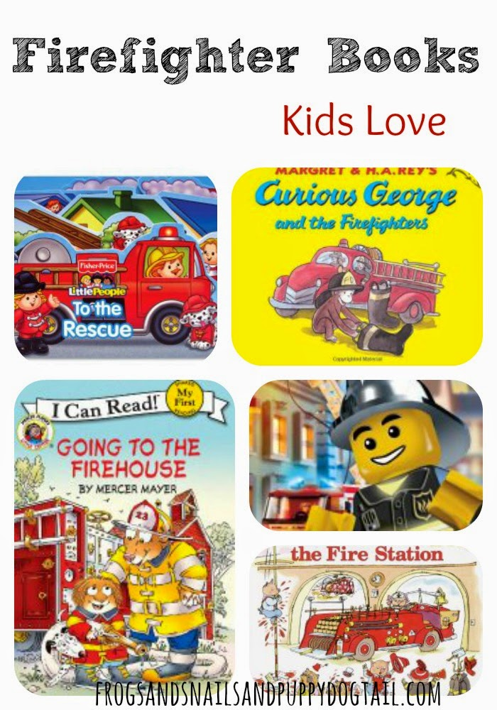 Firefighter Children Books on FSPDT