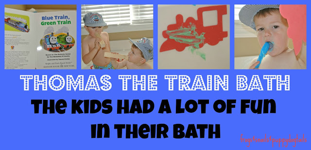 Thomas The Train Bath