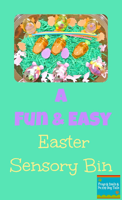 Fun and Easy Easter Sensory Bin