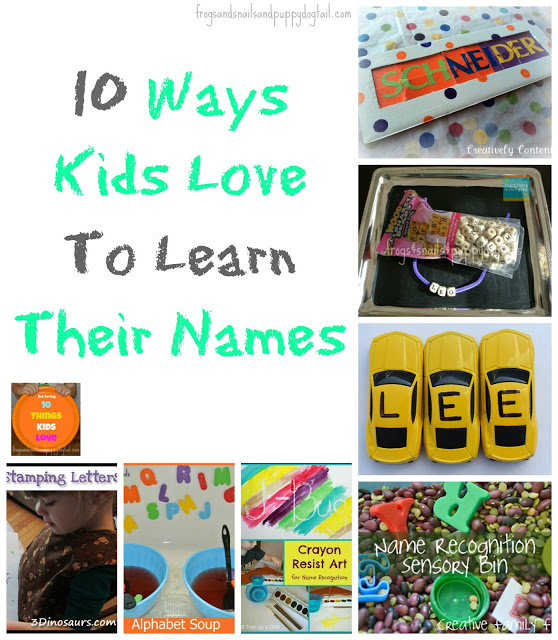 10 Ways Kids Love To Learn Their Name