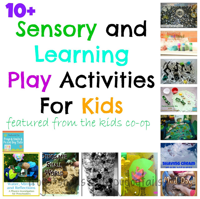 Sensory Play and Learning Activities For Kids
