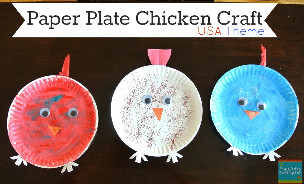 Chicken/Hen Paper Plate Craft  sc 1 st  Frogs and Snails and Puppy Dog Tails & Chicken/Hen Paper Plate Craft - FSPDT
