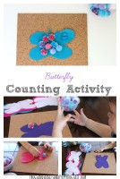 Butterfly Counting Activity for Kids