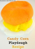candy corn playdough recipe
