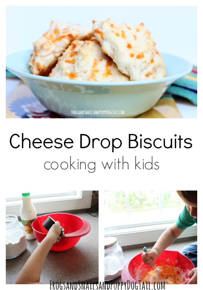 Cheese Drop Biscuits Cooking with Kids