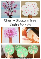 Cherry Blossom Tree Crafts for Kids