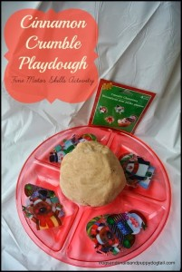 Cinnamon Crumble Playdough- Fine Motors Skill Activity by FSPDT