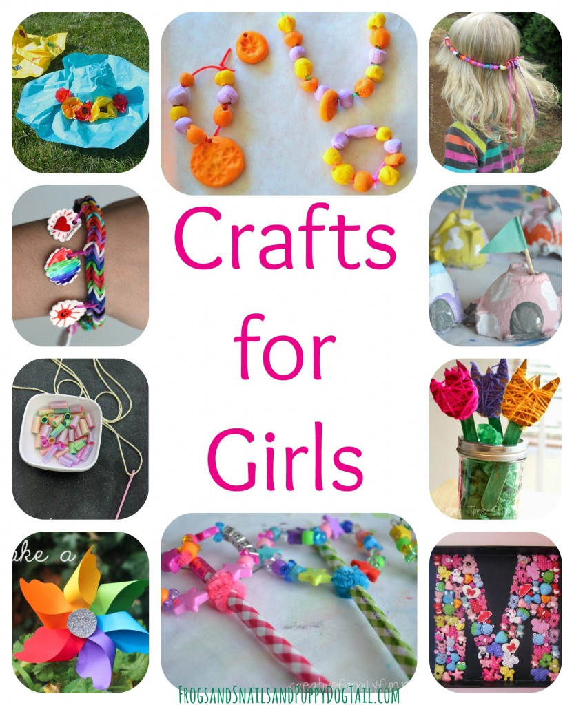 Crafts for girls fspdt for Fun crafts for girls