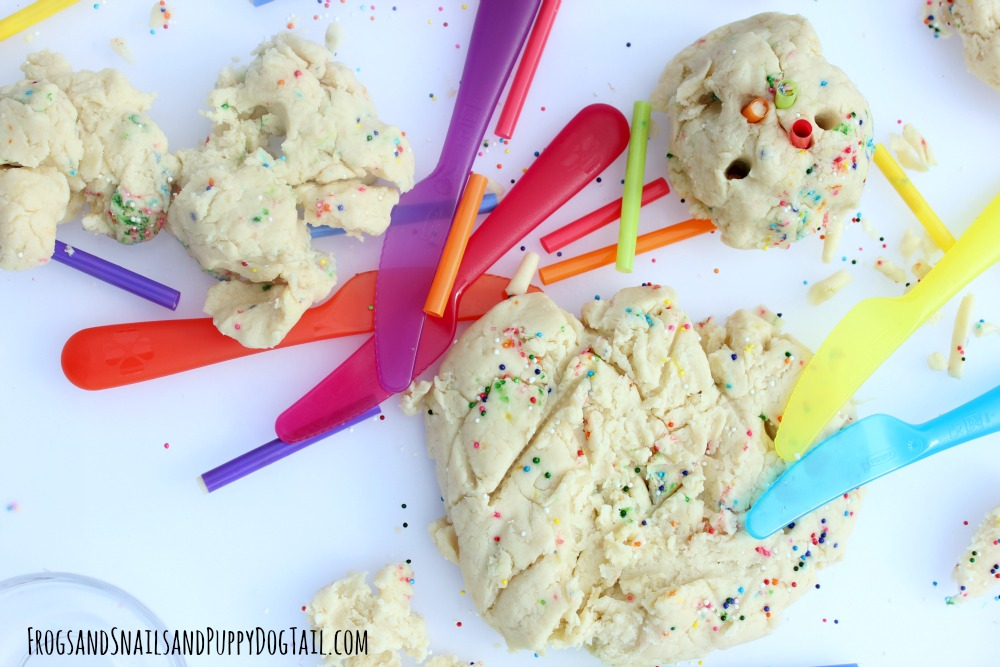 cream cheese edible playdough
