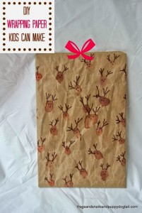 DIY Wrapping Paper the Kids Can Make by FSPDT