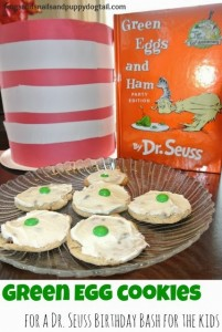 Dr. Seuss Birthday Bash for the kids ~ kid actvity and snack