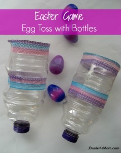 Easter Eggs and Egg Toss Catchers