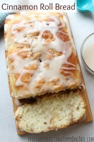 Easy Cinnamon Roll Bread Recipe