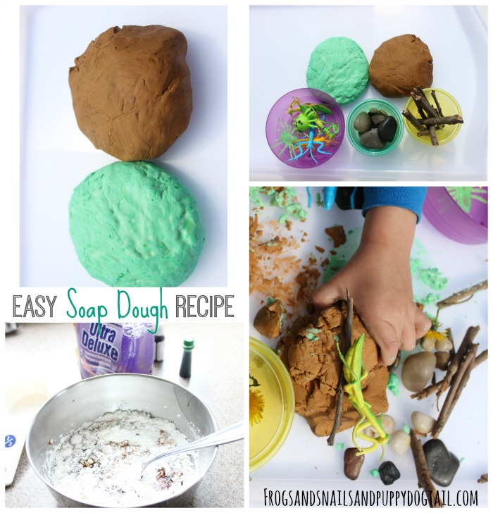 easy soap dough recipe