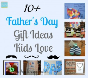 10 Father's Day Gifts Ideas Kids Love {special edition 10 things kids love}