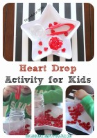 fine motor heart drop for kids
