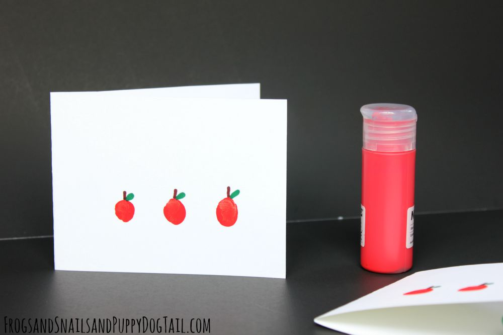 fingerprint apple craft