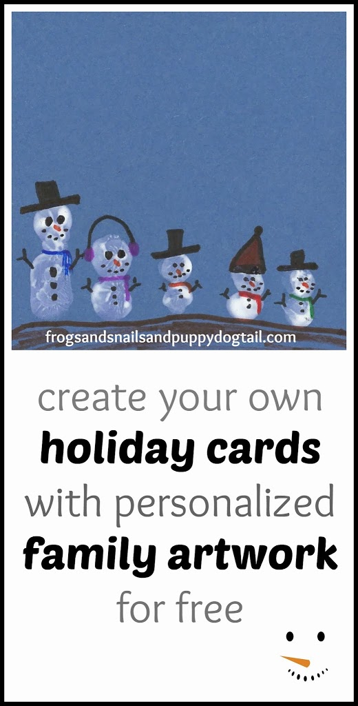 Snowman Family Christmas Cards - FSPDT