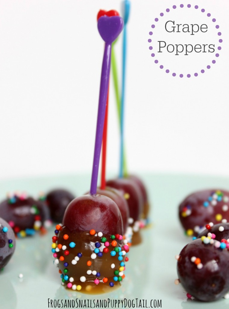 Grape Poppers
