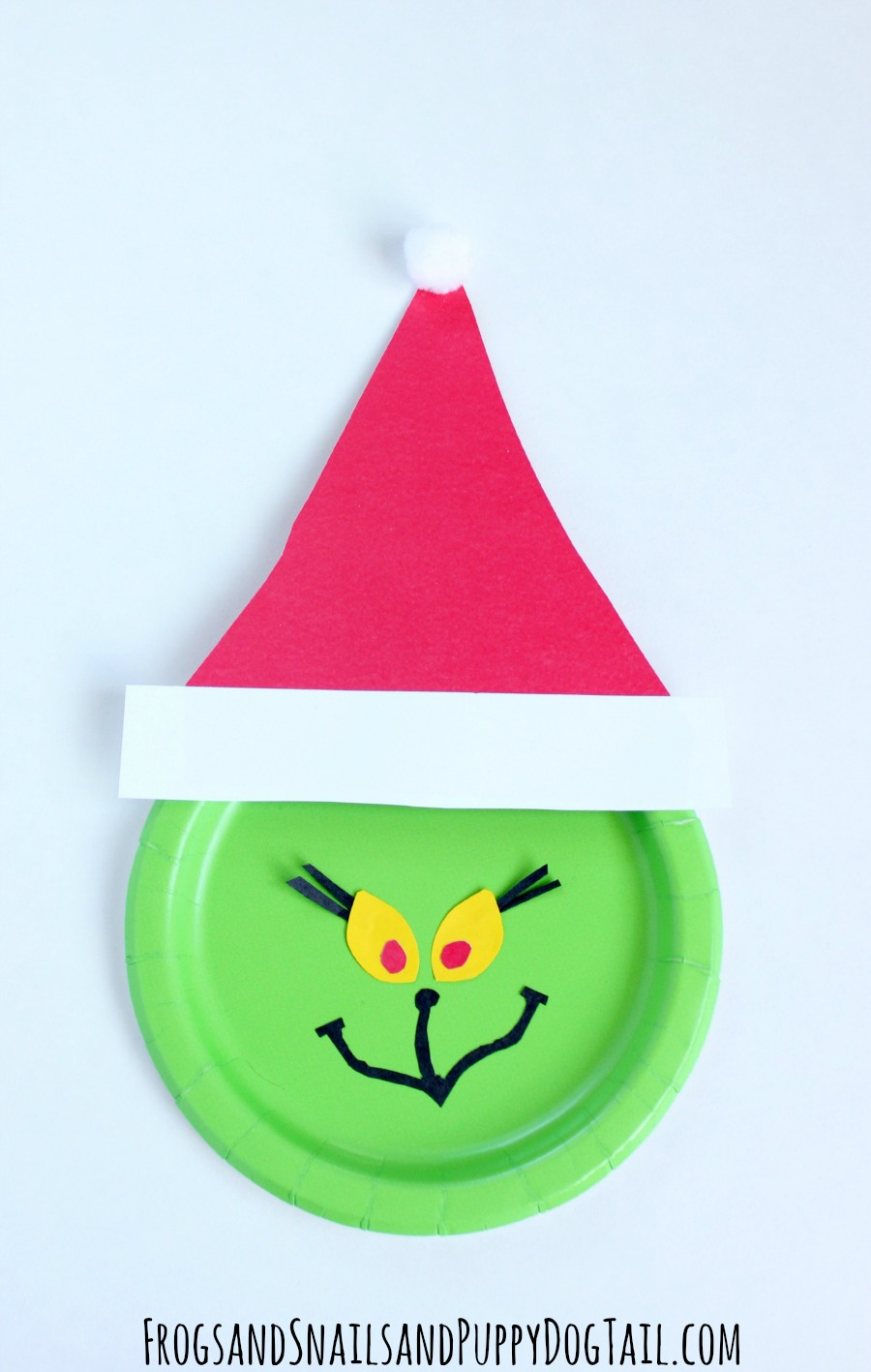 sc 1 st  Frogs and Snails and Puppy Dog Tails & Grinch Paper Plate Craft - FSPDT