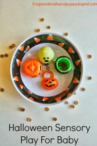 Halloween Sensory Play For Baby by FSPDT