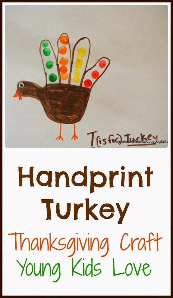Handprint Turkey Thanksgiving Crafts For Young Kids Fspdt