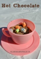 hot chocolate snow dough recipe