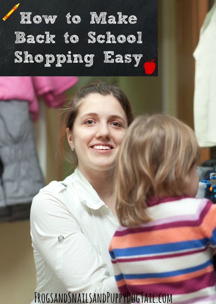 How to make back to school shopping easy