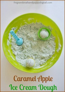 Caramel Apple Ice Cream Dough- my secret ingredients by FSPDT