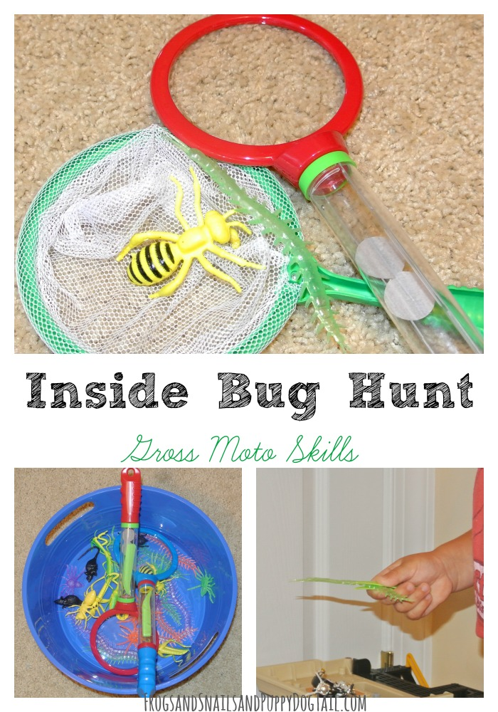 Inside Bug Hunt for Gross Motor Skills
