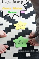 j is for jump gross motor game
