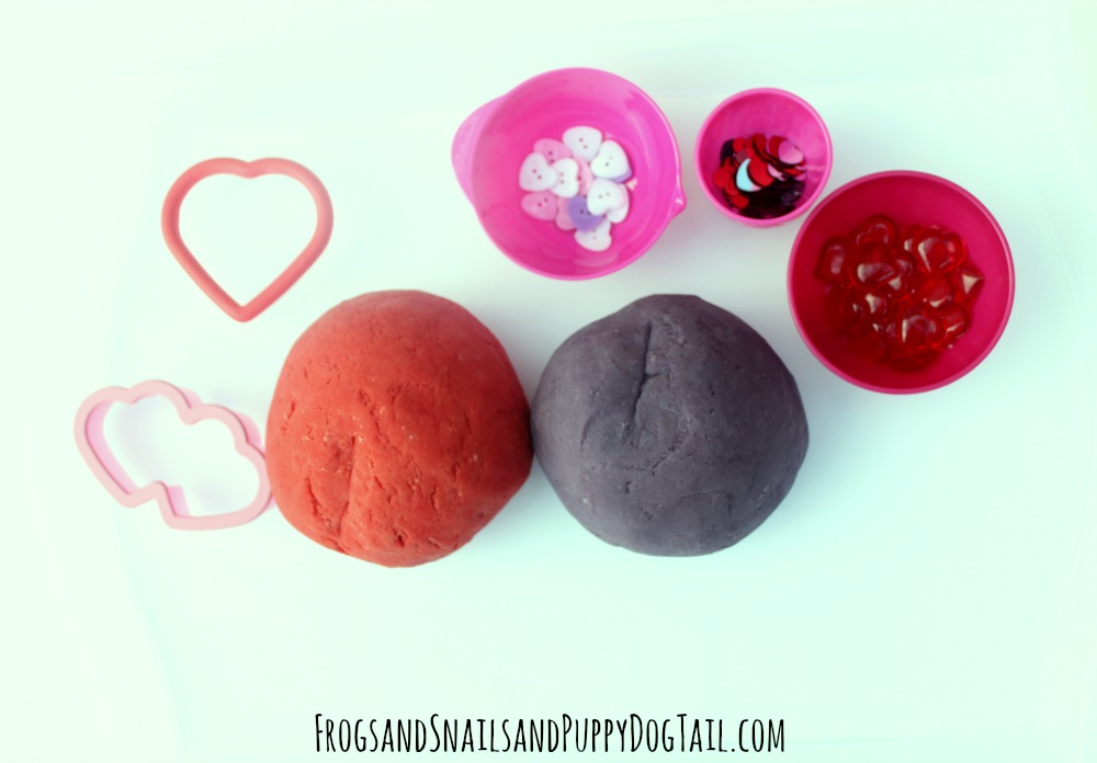 kool-aid playdough tray