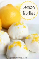lemon truffle recipe