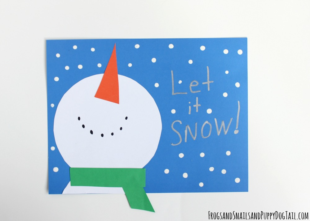 let it snow craft for kids