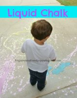 liquid chalk play recipe