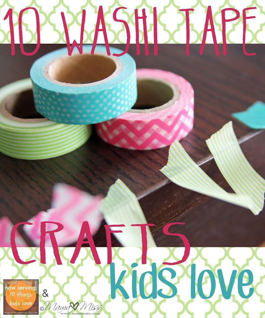 Washi Tape Crafts 10 Washi Tape Crafts Kids Love  Fspdt