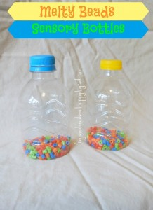 Melty Bead Sensory Bottles