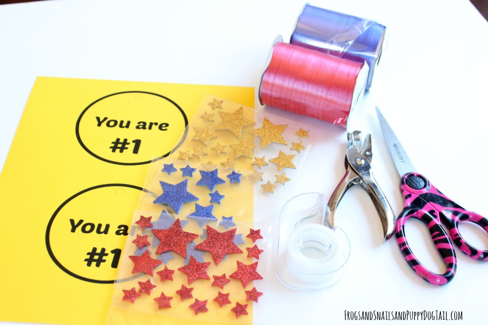 medal craft for kids