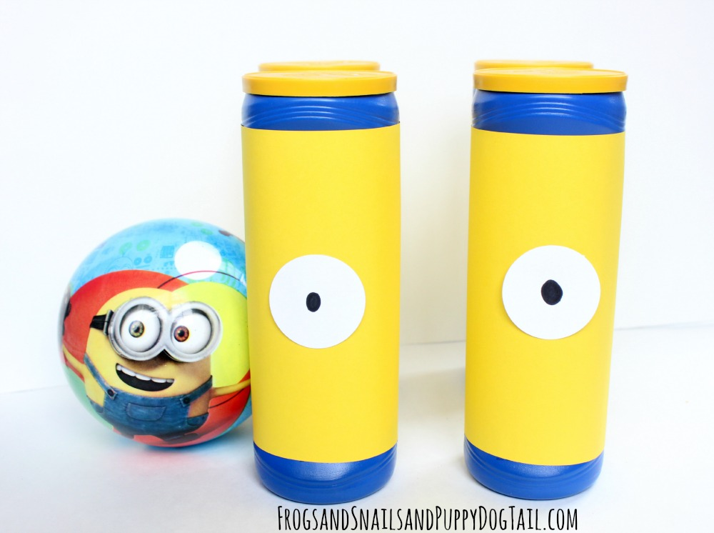 minion bowling set for kids