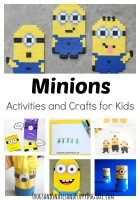 Minions Activities and Crafts for Kids