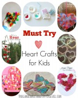 Must try Heart Crafts for Kids
