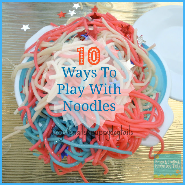 10 Ways To Play With Pasta Noodles Kids Love Fspdt